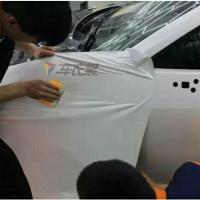 重塑战神铠甲 GT-R电光白车身改色贴膜