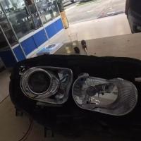 观致车友群组队车灯升级海拉6双光透镜