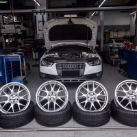 Audi A4 allroad 更换德国BBS CH-R 20寸轮毂+米其林PSS轮胎
