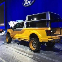 Sema展会上Fuel offroad成为??Ford福特展台指定合作品牌。实力体现[愉快]