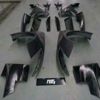 克尔维特C7到店准备施工日本forte style宽体包围!让整部车美式肌肉感十足,加宽的叶子板为直接替换形式,期待FIST施工后的又一经典案例吧!