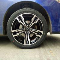 马自达3更换17寸轮毂+邓禄普轮胎