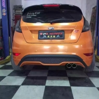 Fiesta嘉年华ST改装意大利Supersprint排气中尾段!