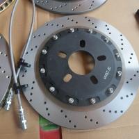 成都东方580 升级18寸极速轮毂配AP5200 330mm 打孔碟装车案例