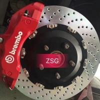 【讴歌MDX】刹车改装Brembo 18Z六活塞卡钳套装,搭配380盘,原厂轮毂直接安装.