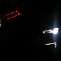 奔腾x80大灯改装 升级海拉5双光透镜