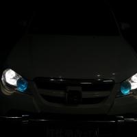 众泰5008车灯改装升阿帕5xv套装