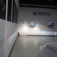 上海改车灯长安CS75改装氙气大灯