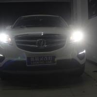 上海长安CS35改车灯Q5透镜氙气大灯