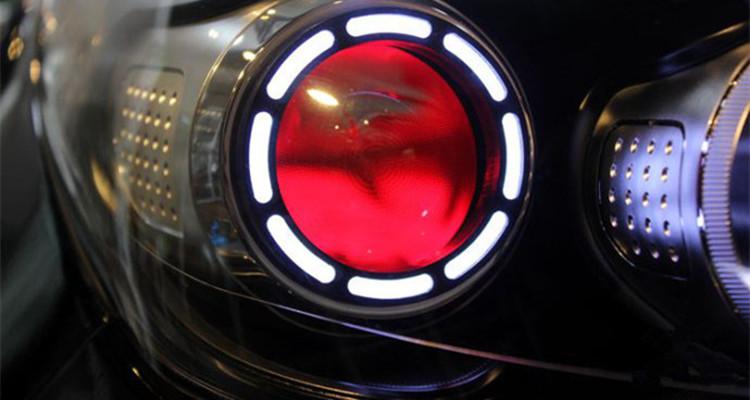 kx5led大灯 天使眼 恶魔眼 转向灯流光灯