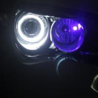 荣威350车灯改装海拉5双光透镜