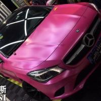 施工车型:奔驰GLC200 ??From膜蝶斯电光粉