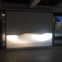 南京奔腾b30车灯改装升级阿帕LED透镜