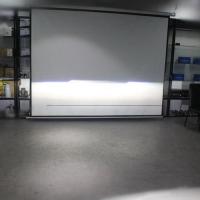 标致308车灯改装海拉5透镜LED日行灯