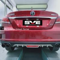 新款名爵6改装SVE中尾段阀门四出排气