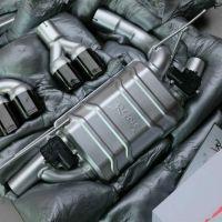 宝马3系  repose四出阀门排气  装车效果