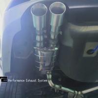 现代名图改装SVE品牌中尾段阀门四出排气