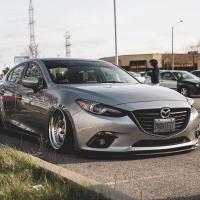 Mazda 3 Axela 气动避震案例