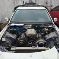 寻找买主 当配件价格卖了 车在浙江台州 这几天能定的给惊喜价 发动机3uz 五速手动强化地盘件 台产绞牙 车目前是半成品