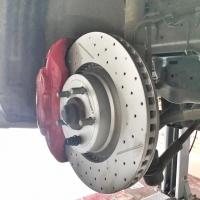 福特野马升级ECFRONT孔线高速刹车盘