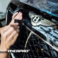 奢华质感,宾利添越施工ONERPRO隐形车衣,给爱车一层基本保护