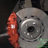 英菲尼迪Q60刹车疲软无力AP9560大六刹车上脚解决问题效果提升一大步