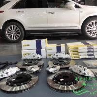 凯迪拉克XT5刹车升级改装AP刹车AP9560+9540刹车卡钳前六后四案例分享