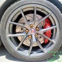 福特福克斯ST刹车升级更换AP刹车改装AP9540刹车卡钳效果案例分享