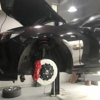 阿特兹刹车改装正品香港VINiC刹车卡钳改装案例图