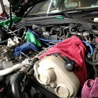 帕拉梅拉维修保养+更换半轴防尘套作业