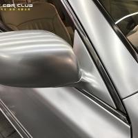 老车贴膜-丰田皇冠贴膜电光金属银
