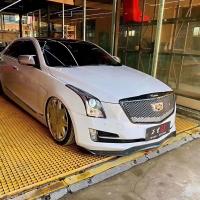 【改装案例】 【车型】凯迪拉克ATS 【品牌】AIRBFT气动套件 【功能】三段记忆,手机App遥控