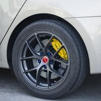现代名图改装TEI Racing P41S刹车套件