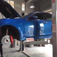 丰田皇冠刹车改装Brembo F50大四和F40小四