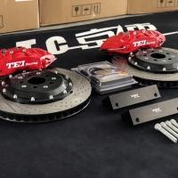 斯巴鲁傲虎改装TEI Racing P60S刹车套件