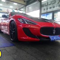 MC赛道版贴膜法拉利红-释放超跑魅力