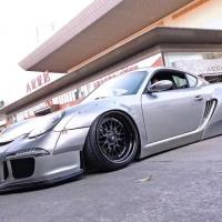 保时捷Porsche 气动避震姿态[色]