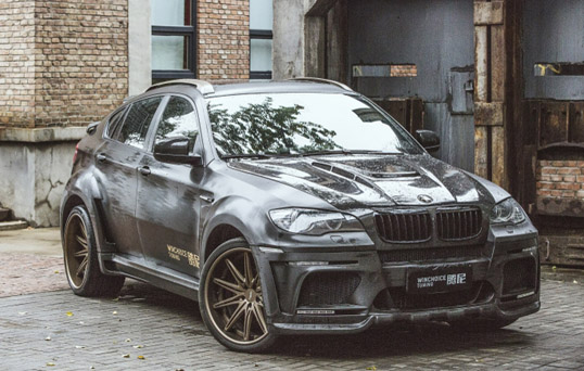 BMW宝马X6 HAMANN 全面升级