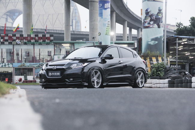 反其道而行 本田SUV缤智低趴轻改案例