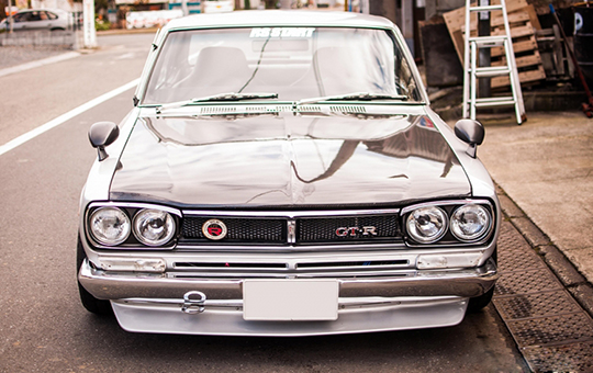 传奇战神 1971年的Hakosuka尼桑GT-R