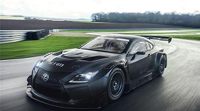 雷克萨斯全新RC F GT3 507PS图