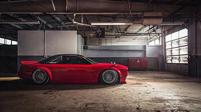 Rocket Bunny改Silvia S14改装案例