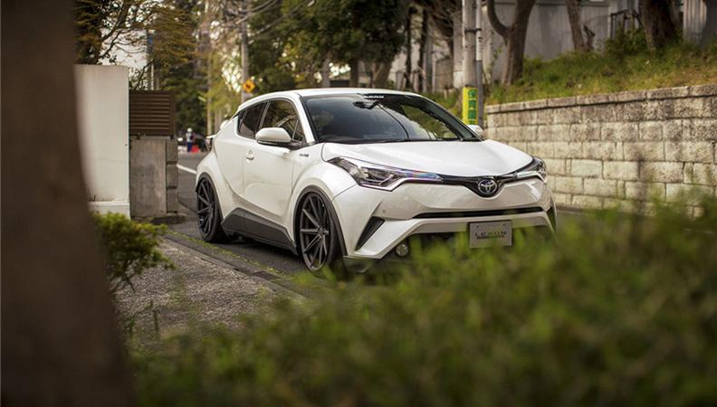 身段降低了反而更高调 丰田C-HR改装