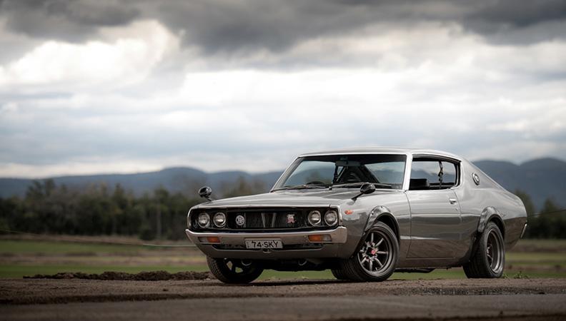 日产GT-R车系历史:Skyline C110案例