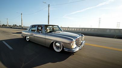 气动的艺术 让奔驰280SE来演绎老派优雅