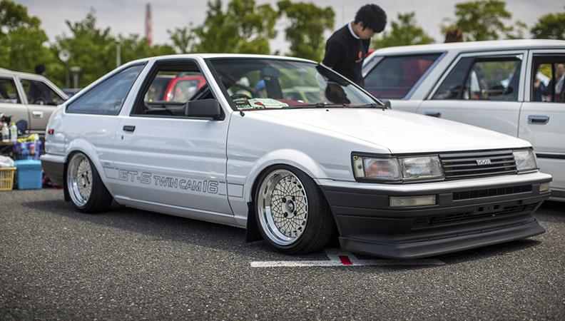 还记得秋名山的86吗 被人叫绝的神级跑车
