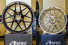 CTCC锻造轮毂唯一供应商-ASPEC