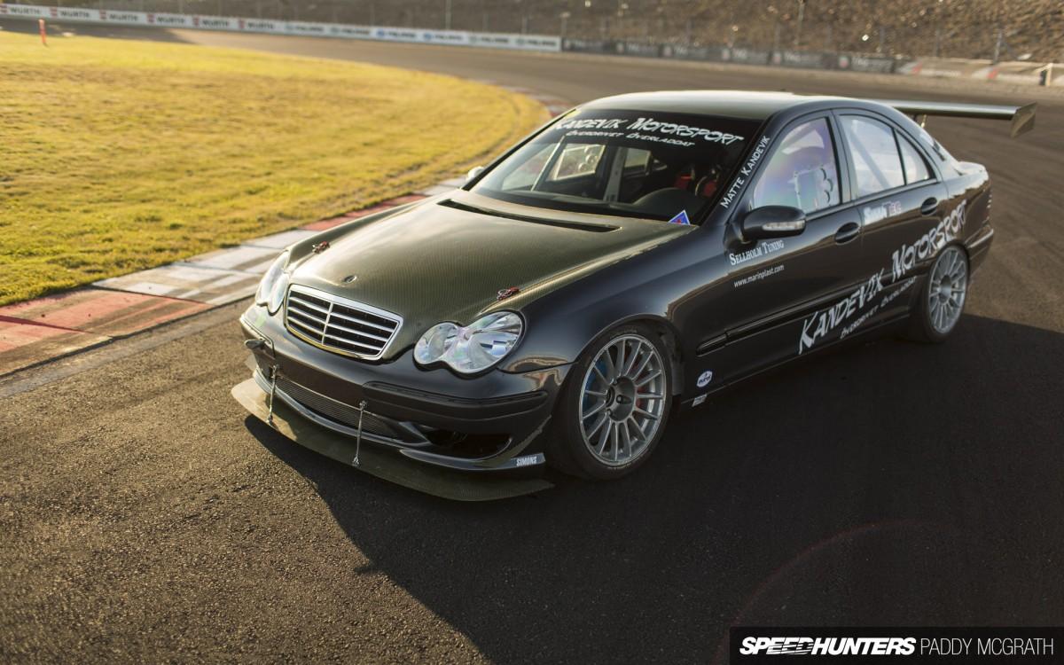 绝对够低趴 奔驰C级 W203改装车欣赏