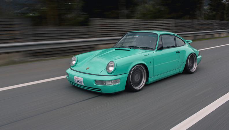 保时捷964改装 重现经典超跑老爷车