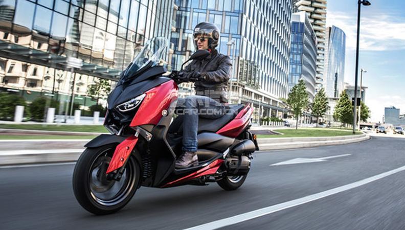 科技配置不减 2018款雅马哈X-MAX 125